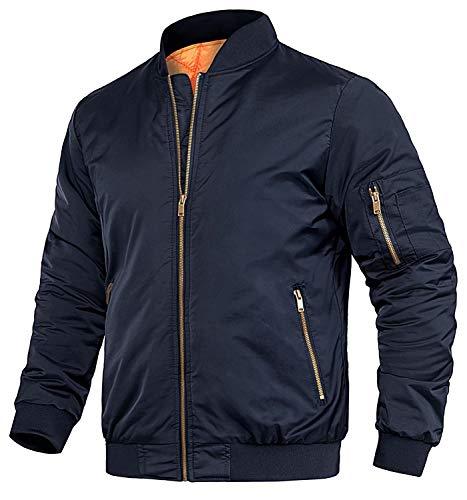 Letter Jackets For Men Bomber Jacket Full Zip Up Thick Winter Jacket Pilot Jacket College Jacket Winter Jacket Coat Varsity Jacket