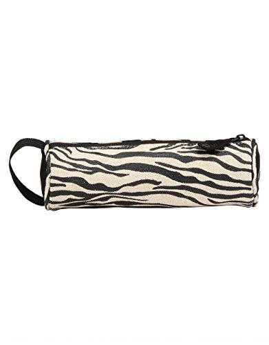 Mi-Pac Pencil Case Estuches, 22 cm, 0.85 litros, ZebraBlk/White