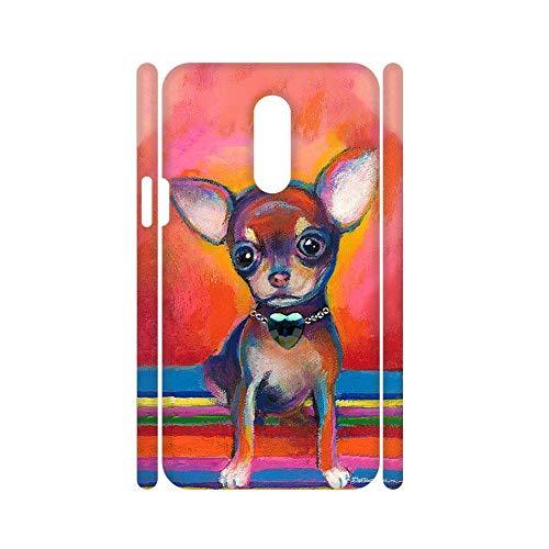 Niña Bonita Cajas De Abs Tener con Chihuahua 6 Compatible One Plus 7 Pro Choose Design 40-3