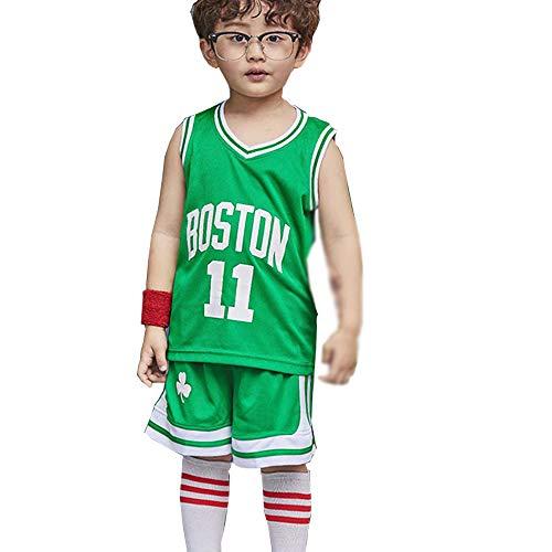 HANHOU - Basketball-Hosen für Mädchen in green, Größe XXL