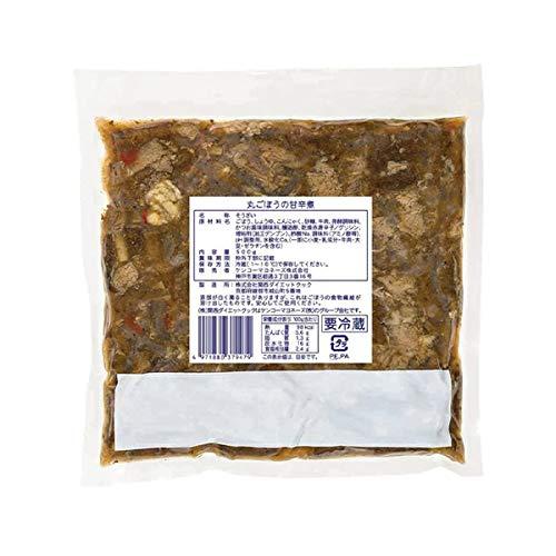 【冷蔵】 ケンコーマヨネーズ 丸ごぼうの甘辛煮 500g 業務賞 惣菜 和食 おかず