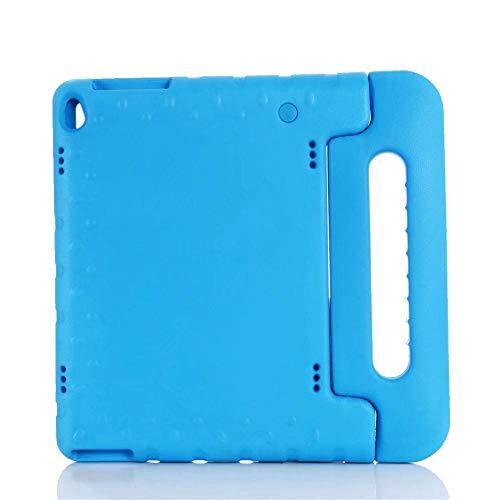 Lenovo Tab E10 TB-X104F portable full-body children's EVA handle bracket tablet protective cover for children-Blue_E10