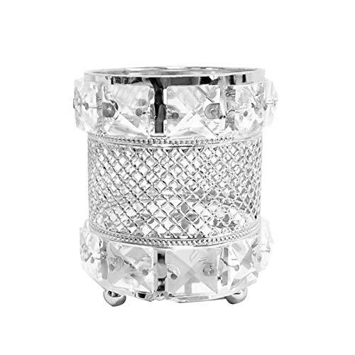 Womdee Crystal Kosmetikpinselhalter Metall Make-up-Pinselhalter Stifte Zahnbürste Aufbewahrung...