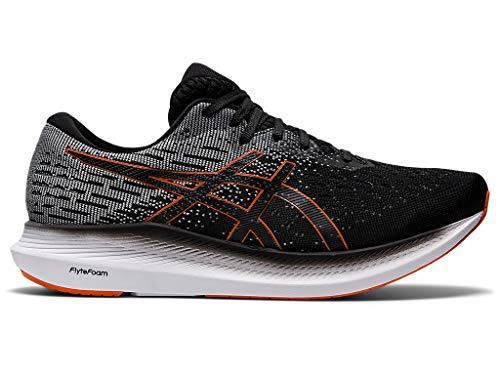 ASICS Men's Evoride 2 Running Shoes, 12M, Black/Marigold Orange