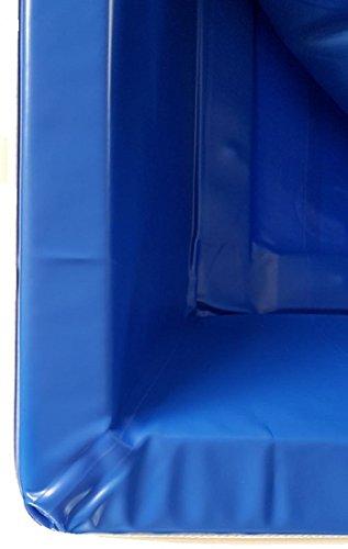 BluTimes Sicherheitswanne Splitliner für Split-Wasserbetten - in Verschiedenen Größen, Größe:160x220