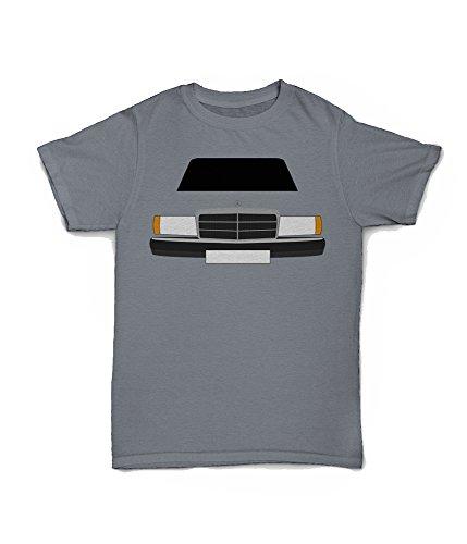 Retro Motor Company Mercedes 190 T-Shirt gelb