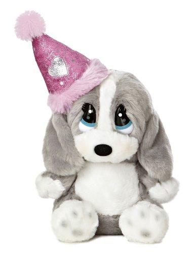 Aurora World Honey Lil Pup Birthday Plush with Hat, 7.5'