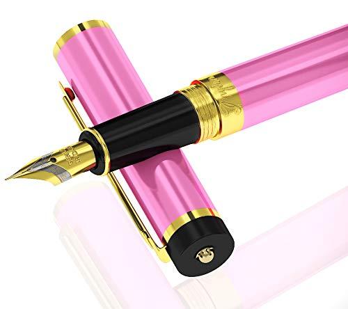 Moderne klassiek parent listing Mittel Schreibfeder [Kasten Beutel] üppige roze