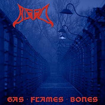 Gas Flames Bones