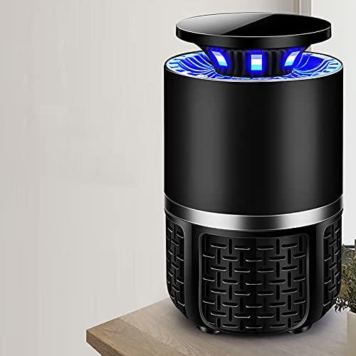 ZHTY lámpara de Mosquito USB La luz Ultravioleta atrae a los Mosquitos,Eliminación de Mosquitos silenciosa y cómoda,eficiente,Ahorro de energía y protección del Medio Ambiente (con Adaptador)