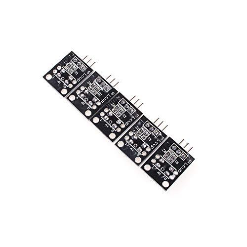 ANGEEK KY-010 - 5 moduli di blocco per fotocellula con sensore Light Break per Arduino