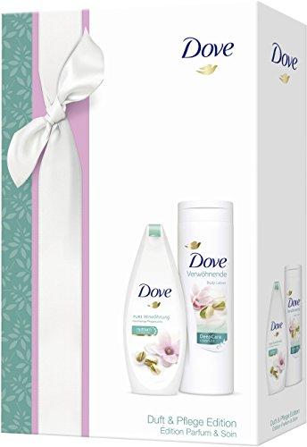 Juego de regalo Dove fragancia y cuidado: Loción corporal pistacho con aroma magnolia, 1 unidad