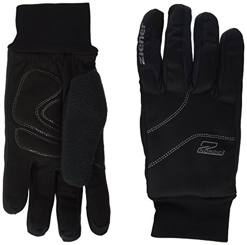 Ziener Kinder Uller Glove Crosscountry Langlaufhandschuh, Black, 6.5