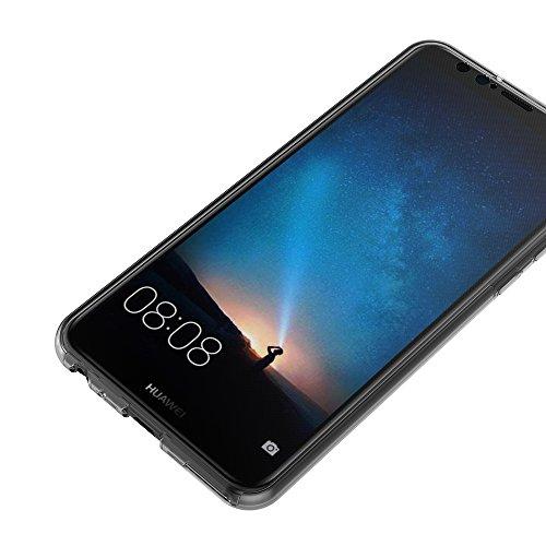 AICEK Huawei Mate 10 Lite Hülle, 360°Full Body Transparent Silikon Schutzhülle für Huawei Mate 10 Lite Case Crystal Clear Durchsichtige TPU Bumper Huawei Mate 10 Lite Handyhülle (5,9 Zoll) - 6