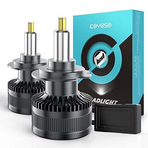 lampada led per auto KOYOSO H7 LED Lampadine 360° 16000LM LED Lampada per 12V Auto 6500K Bianco