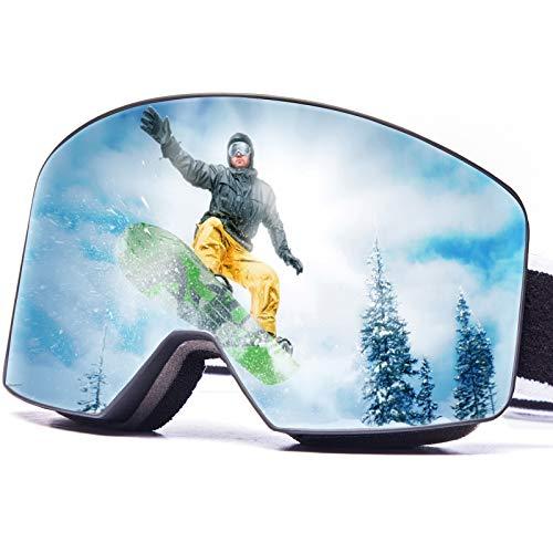 Ski Goggles for Men Women,OTG Ski Goggles Adult Snow Goggles Over...