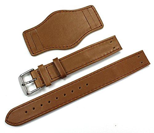 Sulla - Cinturino per orologio da uomo in pelle, con protezione del...