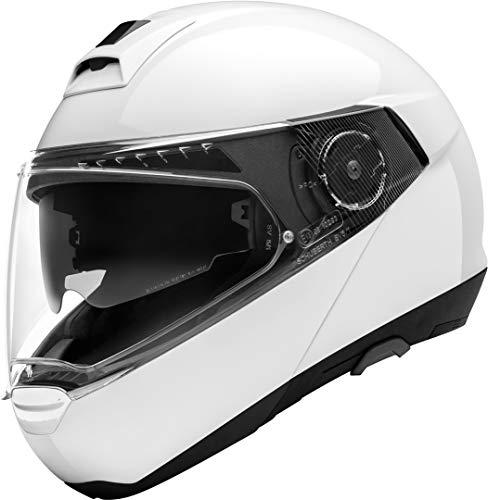SCHUBERTH C4 Pro Blanco Brillante Modulares Casco De Motocicleta Tamano 3XL