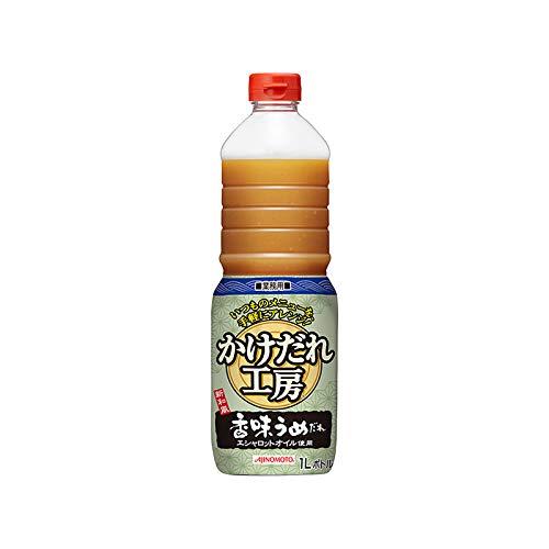味の素「かけだれ工房R」香味うめだれ 1Lボトル×6