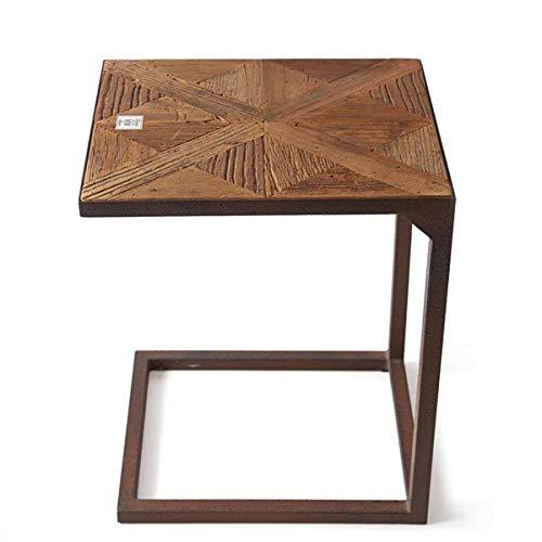 Riviera Maison - Chateau Chassigny Sofa Table - Beistelltisch/Sofatisch - recyceltes Ulmenholz, Eisen - B: 35cm x H: 60cm x L: 45cm