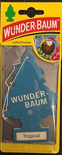 Wunderbaum Désodorisant pour voiture tropicale, maison et arbre tropical (3)