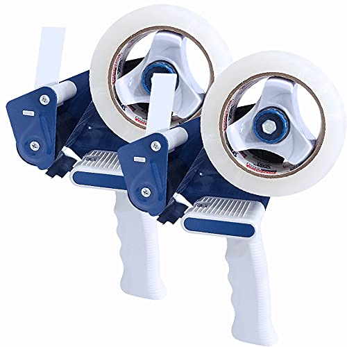 Heavy Duty Packing Tape Gun for 2' Width Tape, Hold up to 180 Yards Length roll,...