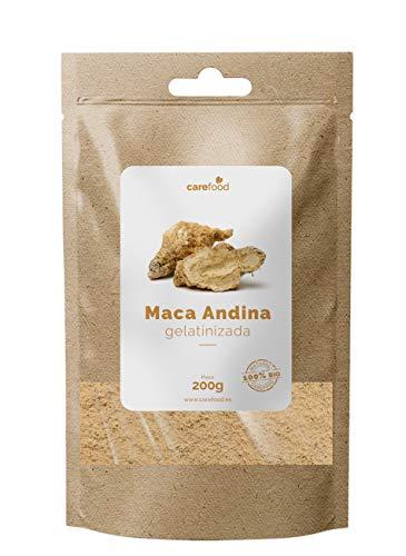 Maca Andina Gelatinizada en Polvo 200gr Carefood | 100{c48b7b50bc936bdff9a8f95a13fe1579924e614f1f3667a77dd4495df73f067e} Orgánica | BIO pura procedente de Perú | Lepidium Meyenii|