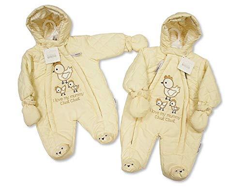 Nursery Time Frühchen- / Erstlings Schneeanzug creme 0-3 Monate gr. 56 - 62