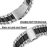 Zoom IMG-2 skyband metallo acciaio moda cinturino
