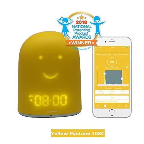 Yellow REMI - 5-in-1 Toddler Sleep Trainer - Baby and Children Sleep Tracker -...