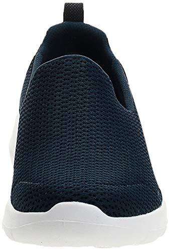 Skechers Go Walk Joy, Zapatillas sin Cordones Mujer, Multicolor (NVW Black Textile/Trim), 37 EU
