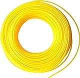 Dario Tools CMB322025 - Cable de rebordeadora (2,0 mm de ancho, 25 m de longitud), color amarillo