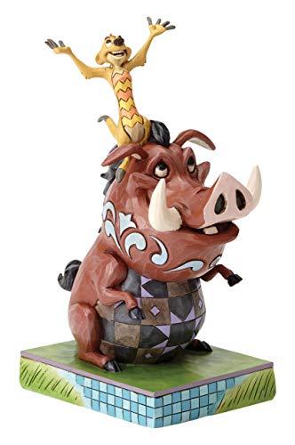 """Disney Traditions, Figura de Timón y Pumba de """"El Rey León"""", para coleccionar, Enesco"""