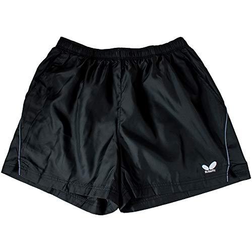 Shorts de treino Butterfly Chi – Shorts de treino leves e confortáveis, Preto, X-Small