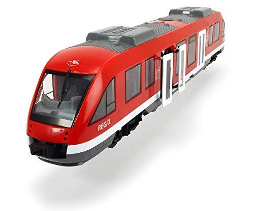 Dickie Toys City Train, Zug, Spielzeugzug, Bahn, Türen und Dach zum Öffnen, Interieur, Maßstab 1:43, 45 cm, ab 3 Jahren