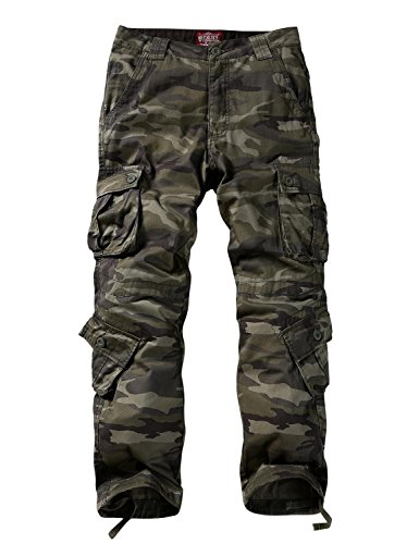 Match Men's Wild Cargo Pants(44,Army Green max)