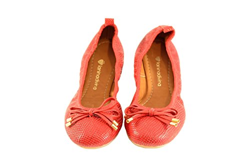 LANINADIVINA Bailarina Animal Print Red