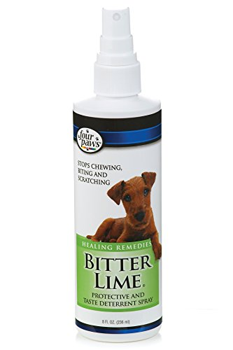 Four Paws 8 oz Bitter Lime Cat and Dog Spray