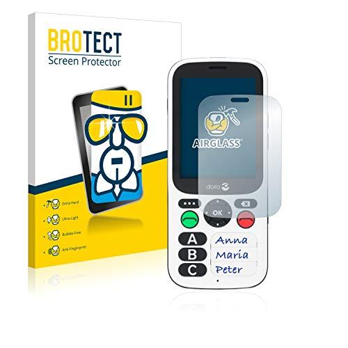 BROTECT Panzerglas Schutzfolie kompatibel mit Doro 780X - AirGlass, extrem Kratzfest, Anti-Fingerprint, Ultra-transparent