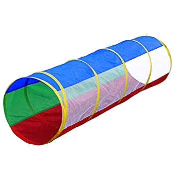 Hide N Side 6ft Crawl Through Play Tunnel Toy Pop up Tunnel for Kids Toddlers Dogs Babies Infants & Children Gift Indoor & Outdoor Action Toy Tunnel