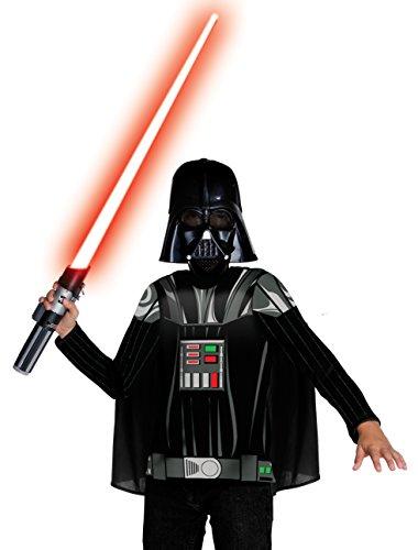 Rubies 3881328 – Dark Vador Dress Up Child Costume, M