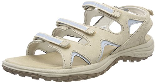 Columbia Femme Sandales, SANTIAM WRAP, Taille 43, Beige (Ancient Fossil, Mirage)