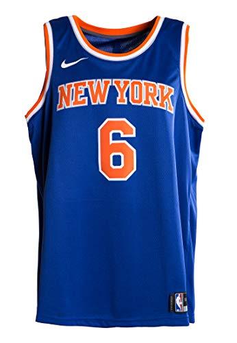 Kristaps Porzingis New York Knicks Nike Swingman Jersey Blue (Blue, Large)