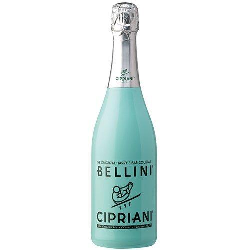 Cipriani aromatisierter Cocktail 'Bellini' mit Saft von weissen Pfirsichen, 750 ml