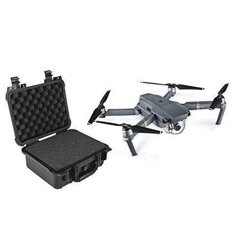 DJI–Drohne Quadrocopter mit Fernbedienung und Koffer Peli, Schwarz (robisa DJ0005)