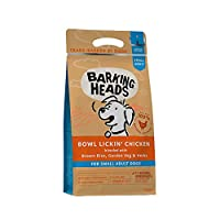 """100% NATURAL FREE-RUN CHICKEN - Our Bowl Lickin' Chicken dry dog food is made with 100% natural free-run chicken blended with a seriously yummy combination of garden veg and herbs, this chicken dinner isn't called """"Bowl Lickin"""" for nothing! GLUTEN FR..."""