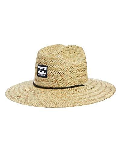 Billabong Men's Tides Lifeguard Straw Hat Beige One Size