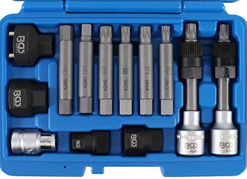 BGS 4246 | Lichtmaschinen Bit-/Bit-Einsatz-Satz | 13-tlg. | Antrieb 12,5 mm (1/2
