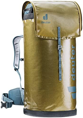 Deuter Gravity Wall Bag 50, Zaino da Arrampicata Unisex-Adult, Clay-Arctic, 50 L