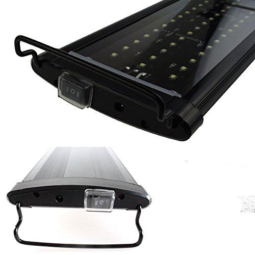 Etime LED Aufsetzleuchte IP67 Aquarium Aquariumlampe Beleuchtung für 120-140cm Aquarium (120-140cm) - 5